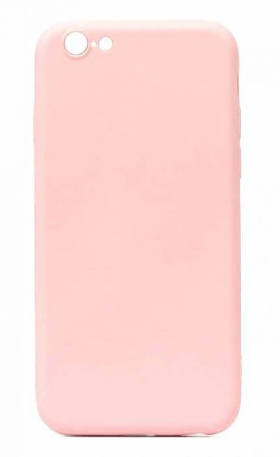 Чехол - накладка для iPhone 6 / 6S Plus силикон Pink org