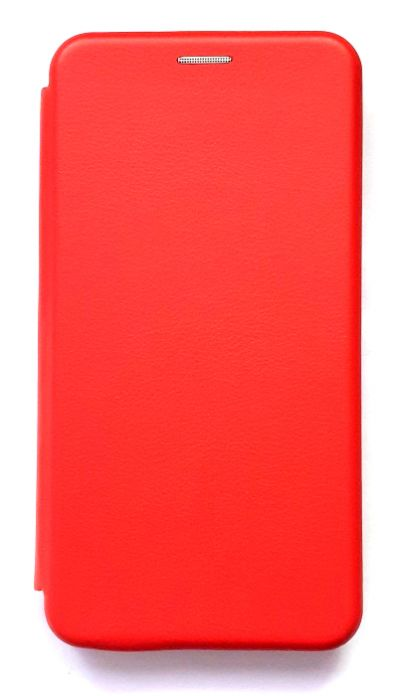 Чехол - книжка для Xiaomi Redmi Note 8 Pro полиуретан Fashion Case Red