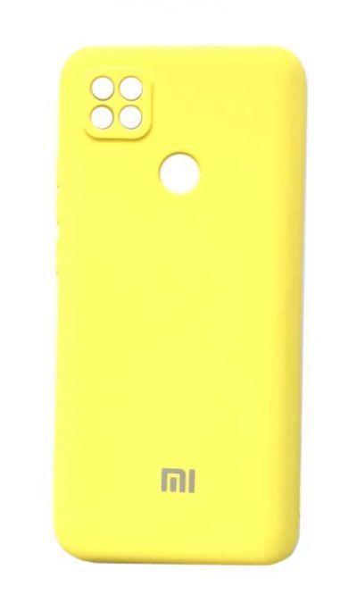 Чехол - накладка для Xiaomi Redmi 9C Silicone Cover Yellow org