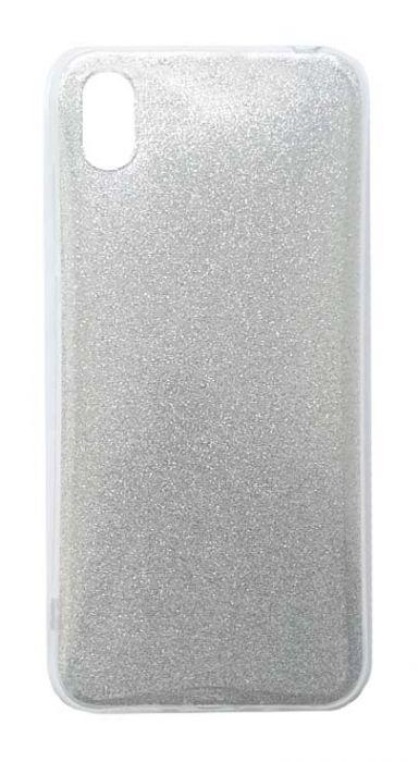 Чехол - накладка для Honor 8S / Huawei Y5 (2019) силикон Glamour Silver