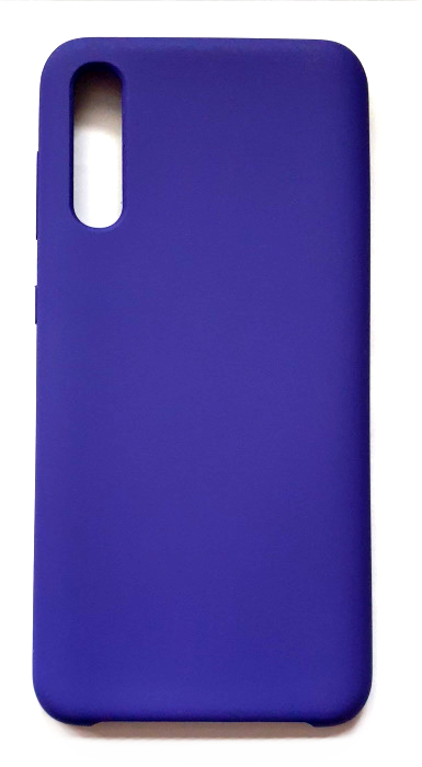 Чехол - накладка для Samsung A50 / A30S Silicone Cover Dark Violet