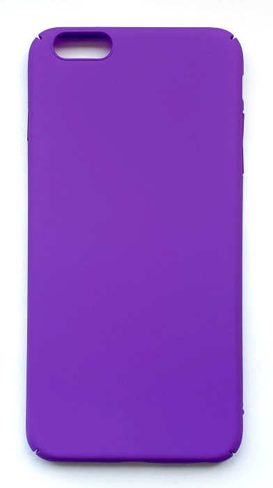 Чехол - накладка для iPhone 6 / 6S Plus пластик Soft Violet