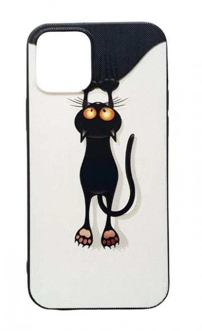 Чехол - накладка для iPhone 12 / 12 Pro силикон Cat Fhorme