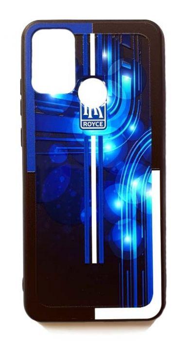 Чехол - накладка для Honor 9A силикон Rolls Royce