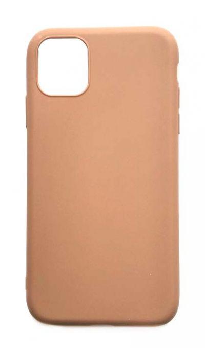 Чехол - накладка для iPhone 11 силикон Brown