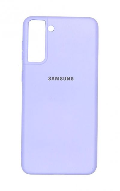 Чехол - накладка для Samsung S21 Plus силикон Violet org