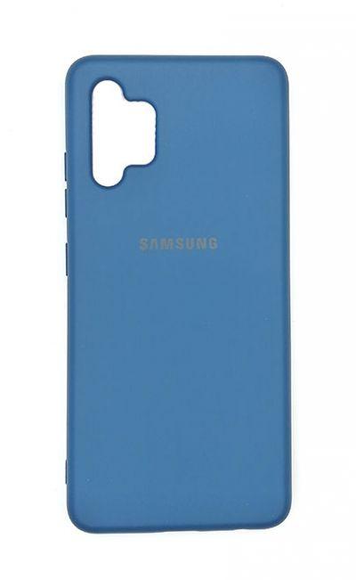 Чехол - накладка для Samsung A32 силикон Dark Blue org