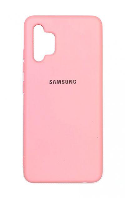 Чехол - накладка для Samsung A32 силикон Pink org