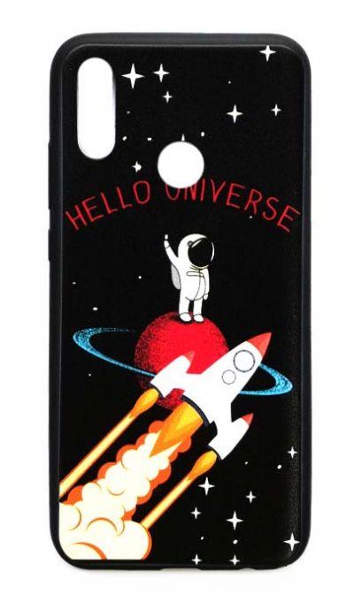 Чехол - накладка для Honor 10 Lite силикон Hello Universe