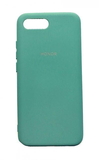Чехол - накладка для Honor 10 силикон Dark Green org