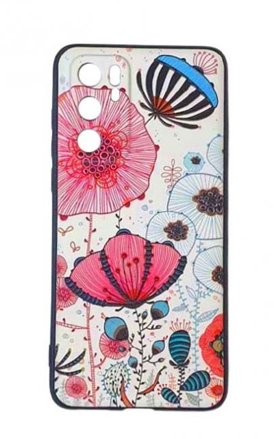 Чехол - накладка для Huawei P40 силикон Fabulous Flowers