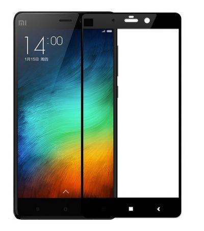 Защитное стекло для Xiaomi Redmi Note 4 / Note 4X, на весь экран, черная рамка
