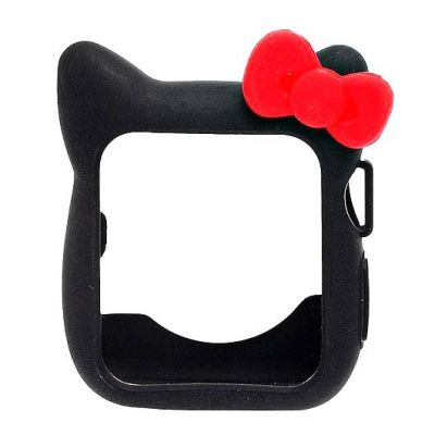 Чехол для Apple Watch 38mm Hello Kitty Black