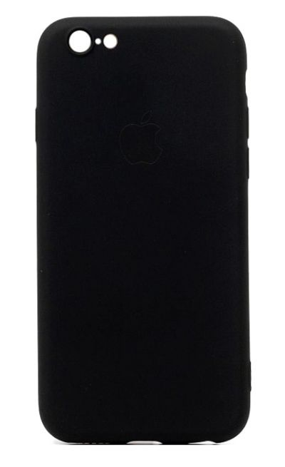 Чехол - накладка для iPhone 7 / 8 / SE 2020 силикон Black org