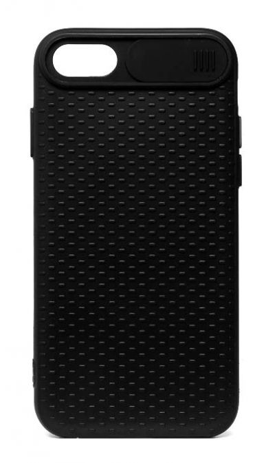 Чехол - накладка для iPhone 6 / 6S силикон Camera Protection Black