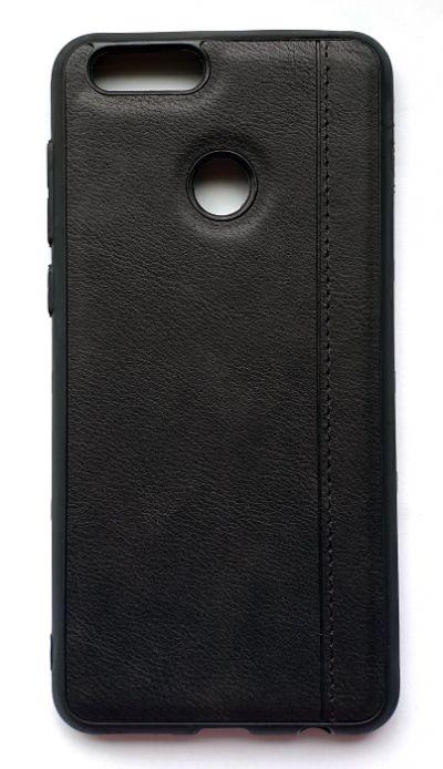 Чехол - накладка для Honor 7X силикон Fashion Case Black