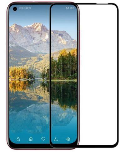Защитное стекло для Honor 20 / 20 Pro / Huawei Nova 5T на весь экран, черная рамка