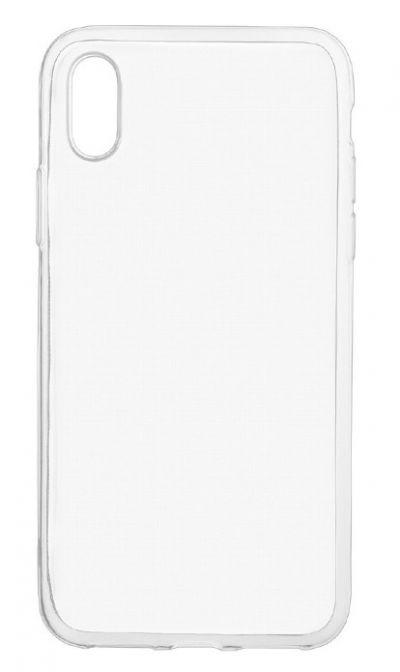Чехол - накладка для iPhone X / XS силикон прозрачный
