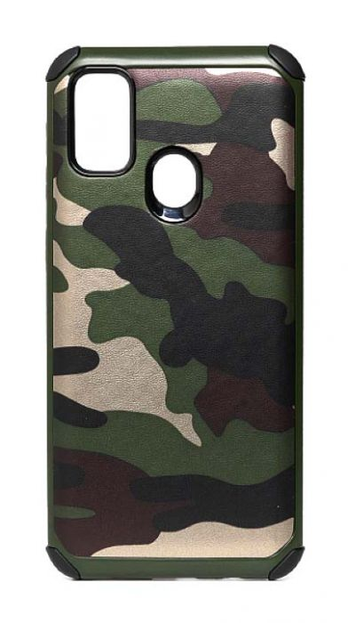 Чехол - накладка для Samsung M21 / M30s силикон Military Style