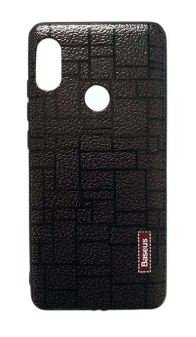 Чехол - накладка для Xiaomi Redmi Note 5 / 5 Pro пластик Brick Brown