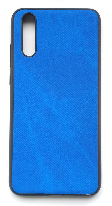 Чехол - накладка для Huawei P20 силикон Rag Blue
