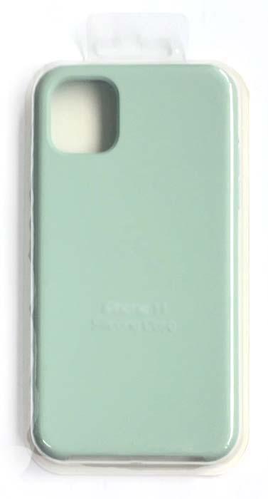Чехол - накладка для iPhone 11 Silicone Case Mint