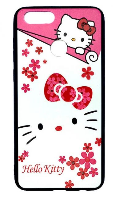 Чехол - накладка для Honor 7X силикон Hello Kitty