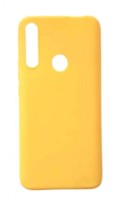 Чехол - накладка для Honor 9X силикон Yellow