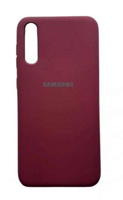 Чехол - накладка для Samsung A50 / A30S силикон Magenta org