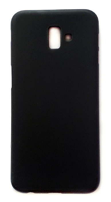 Чехол - накладка для Samsung J6 Plus (2018) силикон Black