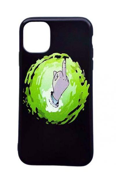 Чехол - накладка для iPhone 12 / 12 Pro силикон Rick and Morty F_ck №2