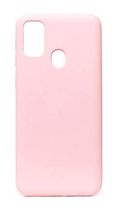 Чехол - накладка для Samsung M31 силикон Activ Full Light Pink