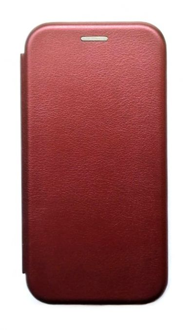 Чехол - книжка для Samsung A02 полиуретан Trendy Cases Burbon