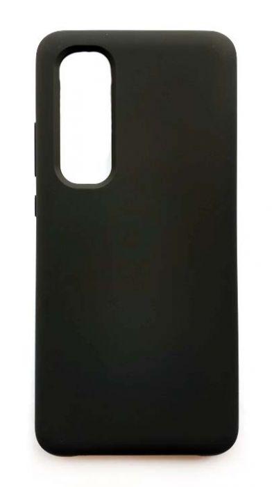 Чехол - накладка для Xiaomi Mi Note 10 Lite Silicone Cover Black