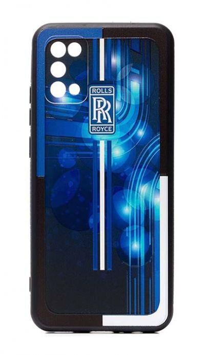 Чехол - накладка для Samsung A02s силикон Rolls Royce