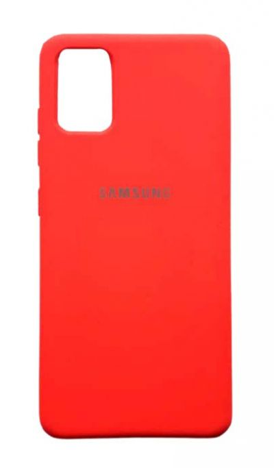 Чехол - накладка для Samsung A51 силикон Red org