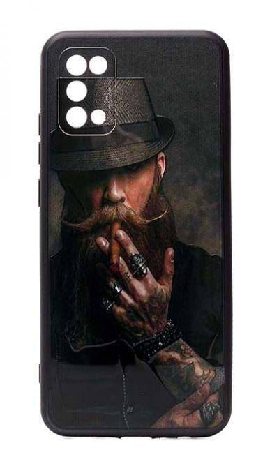Чехол - накладка для Samsung A02s силикон Hipster №2