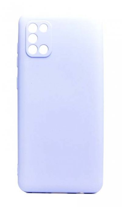 Чехол - накладка для Samsung A31 силикон Activ Full Light Violet