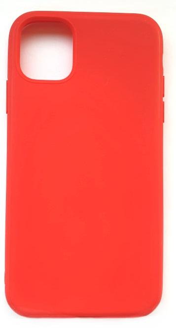 Чехол - накладка для iPhone 11 Pro силикон Red