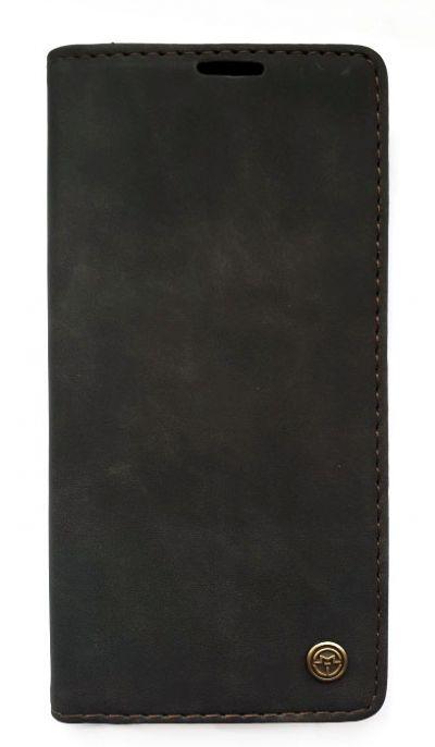 Чехол - книжка для Samsung A41 полиуретан CaseMe Black