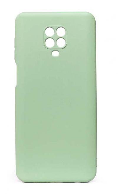 Чехол - накладка для Xiaomi Redmi Note 9 Pro / Note 9S силикон Activ Full Light Green