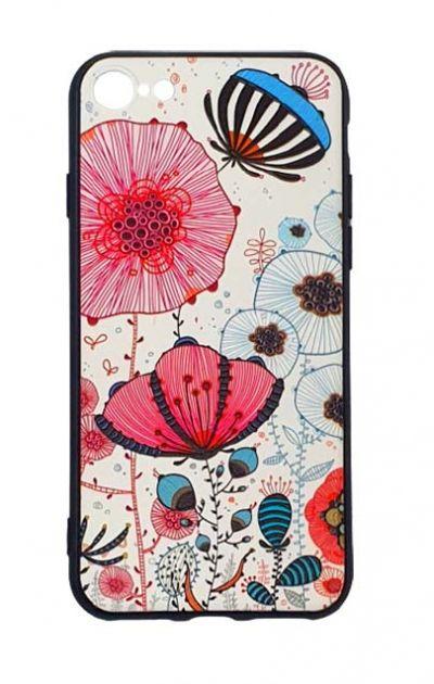 Чехол - накладка для iPhone 7 / 8 / SE 2020 силикон Fabulous Flowers