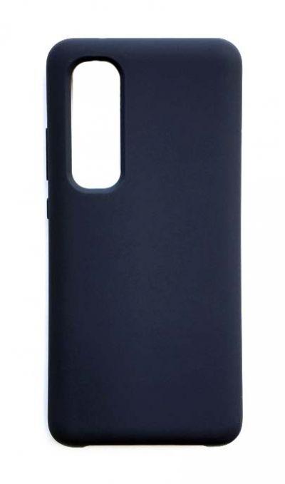 Чехол - накладка для Xiaomi Mi Note 10 Lite Silicone Cover Dark Blue