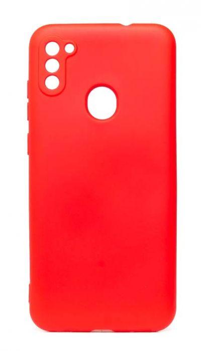 Чехол - накладка для Samsung A11 / M11 силикон Activ Full Red