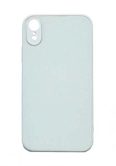 Чехол - накладка для iPhone XR силикон Shiny Glass Sky Blue org