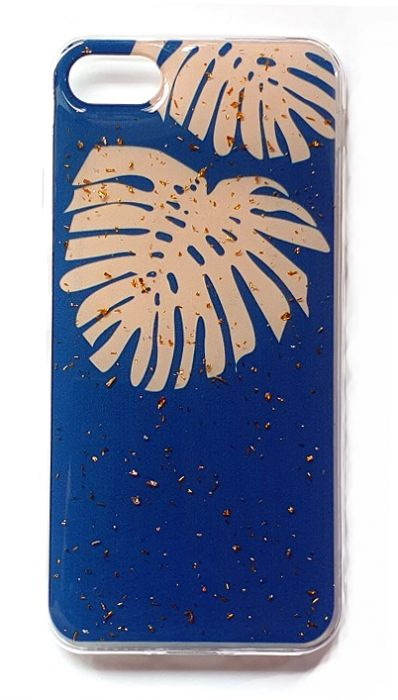 Чехол - накладка для iPhone 7 / 8 / SE 2020 силикон Sparkles Abstract №7