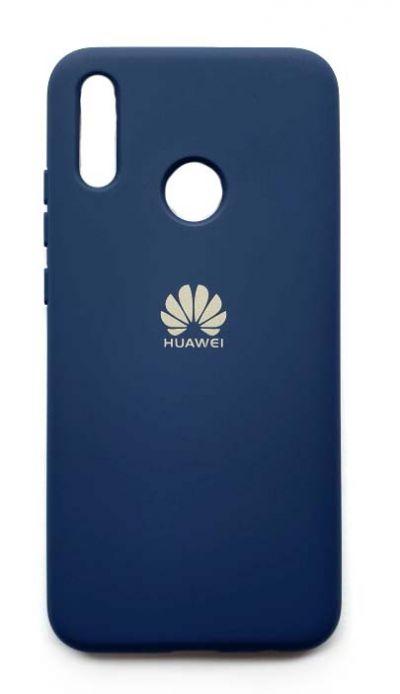 Чехол - накладка для Honor 10 Lite силикон TPU Dark Blue №2 org