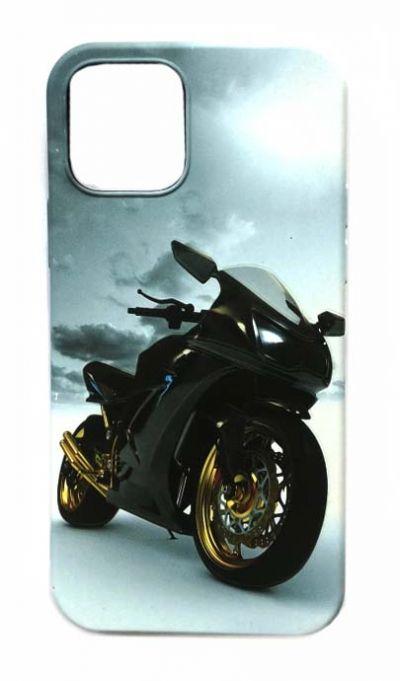 Чехол - накладка для iPhone 12 / 12 Pro силикон Motorbike