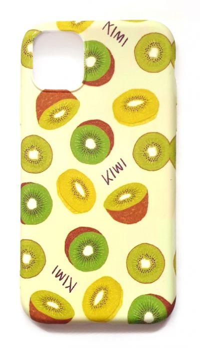 Чехол - накладка для iPhone 11 силикон Kiwi