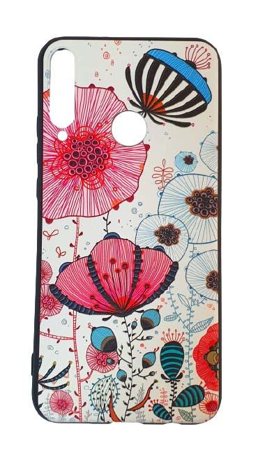 Чехол - накладка для Honor 9C / Huawei P40 Lite E силикон Fabulous Flowers